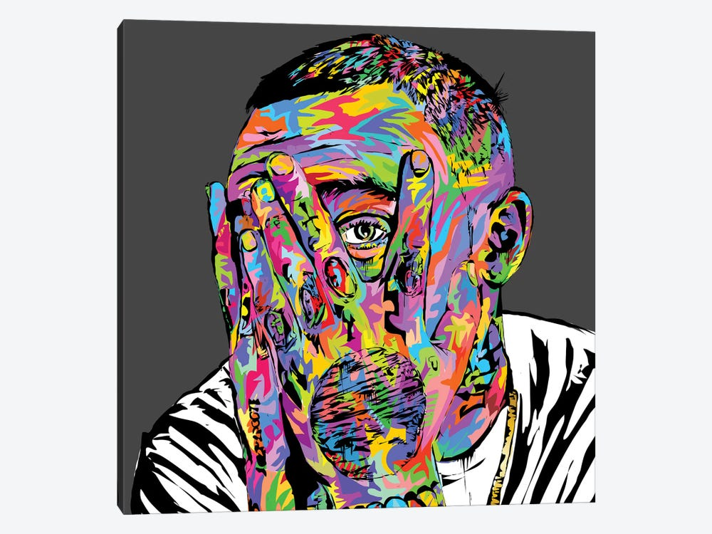 Mac Miller by TECHNODROME1 1-piece Canvas Artwork