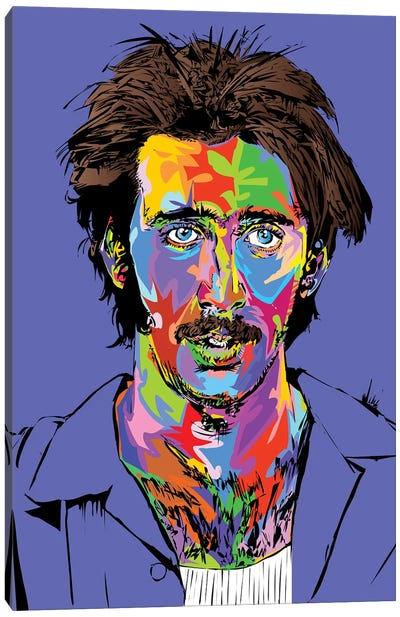 Nicolas Cage Arizona Canvas Art Print
