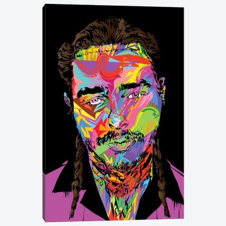 Post Malone Canvas Print #TDR235} by TECHNODROME1 Canvas Artwork