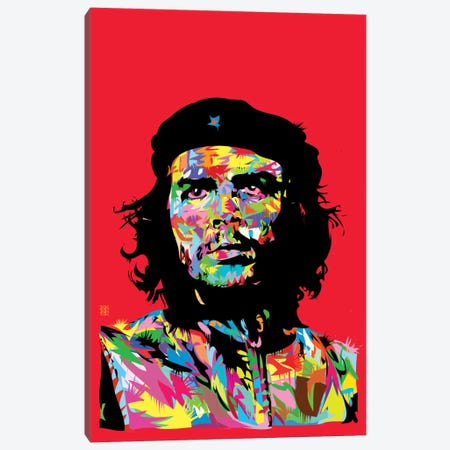 Che I Canvas Print #TDR23} by TECHNODROME1 Canvas Artwork