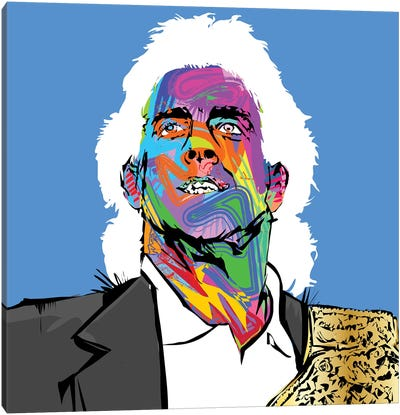 Ric Flair Canvas Art Print