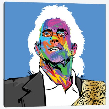 Ric Flair Canvas Print #TDR240} by TECHNODROME1 Canvas Art