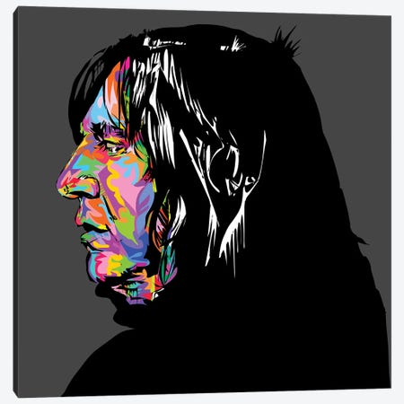 Snape Canvas Print #TDR244} by TECHNODROME1 Art Print