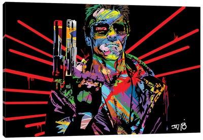 Terminator Canvas Art Print