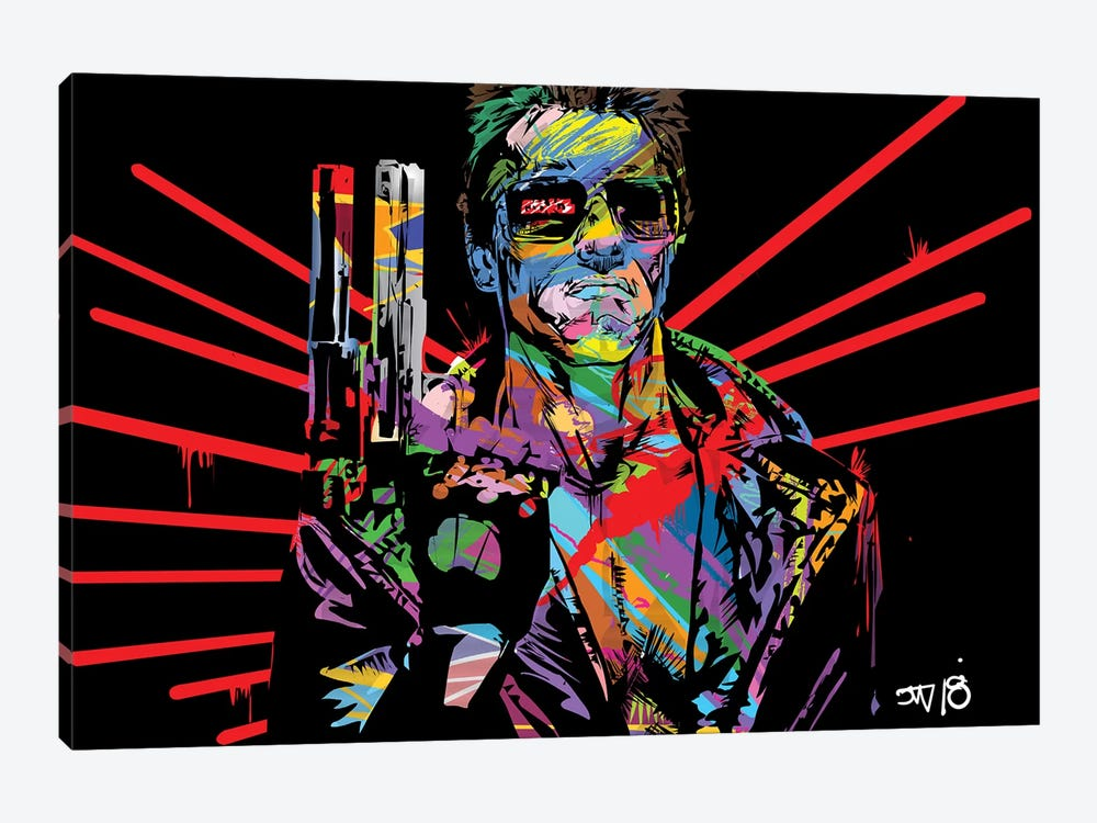 Terminator by TECHNODROME1 1-piece Canvas Print