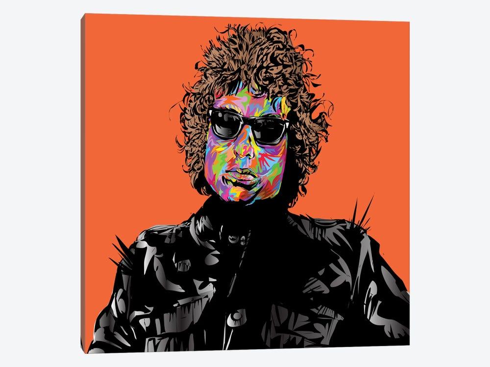 Bob Dylan by TECHNODROME1 1-piece Canvas Artwork