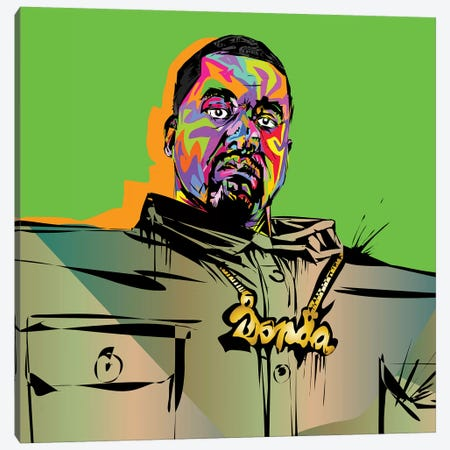 Kanye Love It Canvas Print #TDR253} by TECHNODROME1 Canvas Print