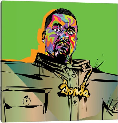 Kanye Love It Canvas Art Print