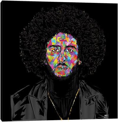 Kaepernickdrome Canvas Art Print