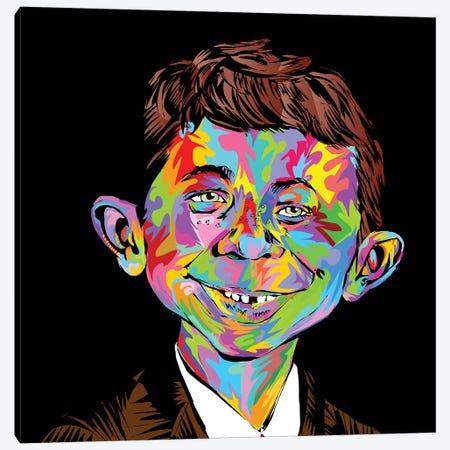 Mad Canvas Print #TDR255} by TECHNODROME1 Canvas Artwork