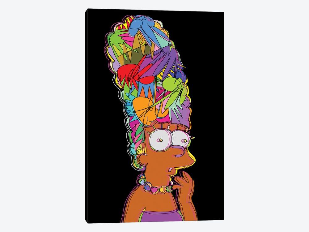Marge Simpson by TECHNODROME1 1-piece Canvas Art