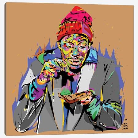 CRACK!!! Canvas Print #TDR25} by TECHNODROME1 Art Print