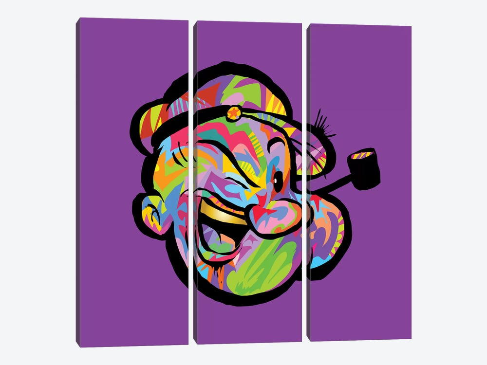 Popeye by TECHNODROME1 3-piece Art Print