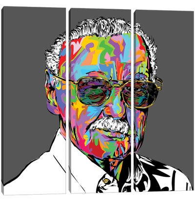 Stan Lee Canvas Art Print