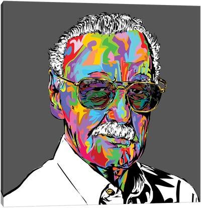 Stan Lee Canvas Art Print