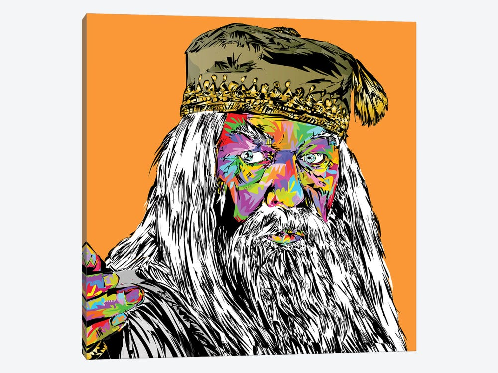 Dumbledore by TECHNODROME1 1-piece Canvas Print
