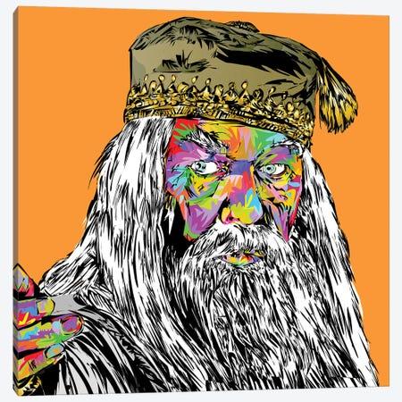 Dumbledore Canvas Print #TDR264} by TECHNODROME1 Canvas Art Print
