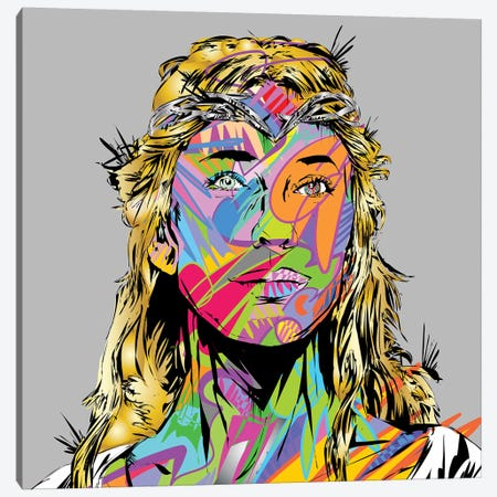 Galadriel Canvas Print #TDR265} by TECHNODROME1 Art Print