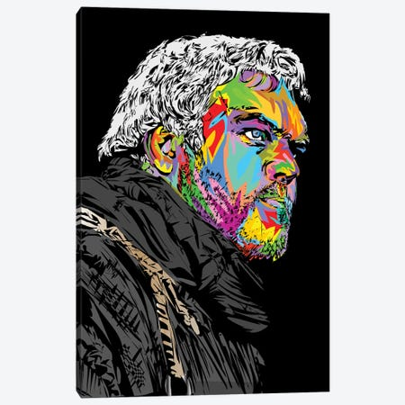 Hodor Canvas Print #TDR267} by TECHNODROME1 Canvas Art Print