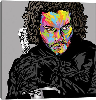 Jon Snow Canvas Art Print