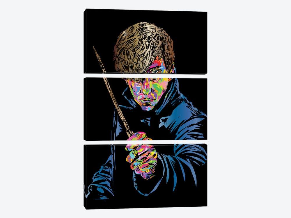 Newt Scamander by TECHNODROME1 3-piece Canvas Artwork