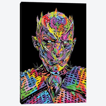Night King Canvas Print #TDR270} by TECHNODROME1 Canvas Print