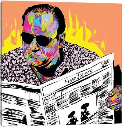 Tony Soprano Canvas Art Print