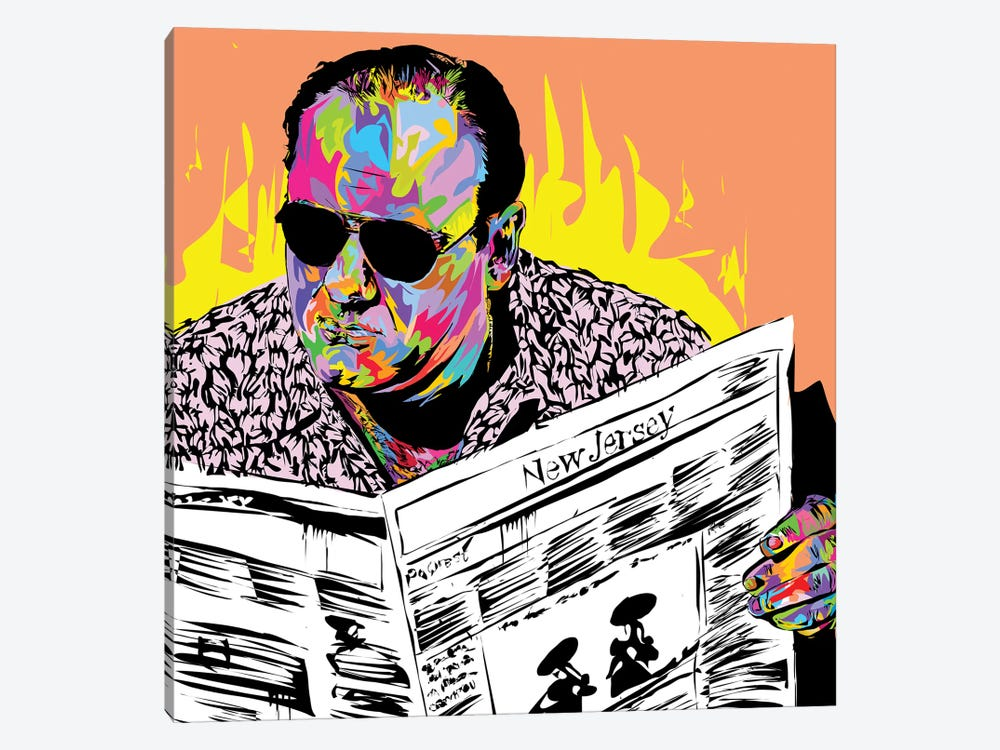 Tony Soprano by TECHNODROME1 1-piece Canvas Art Print