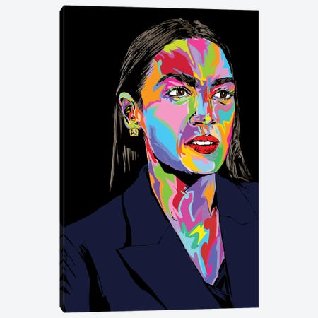 AOC Canvas Print #TDR272} by TECHNODROME1 Art Print