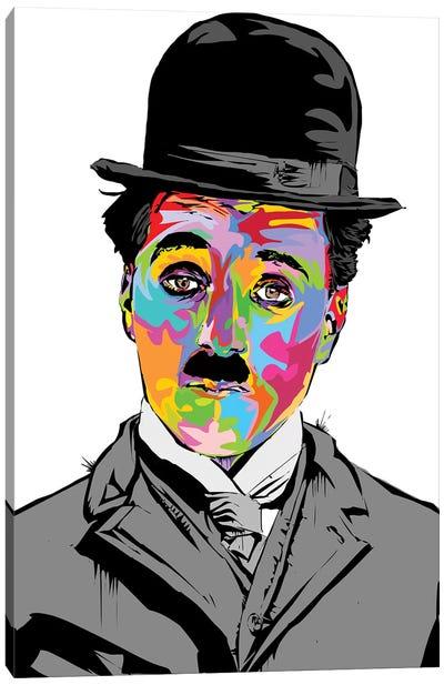 Charlie Chaplin Canvas Art Print