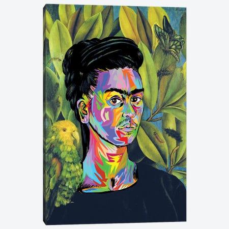 Frida Canvas Print #TDR278} by TECHNODROME1 Canvas Art Print