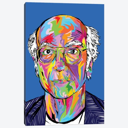 Larry David Canvas Print #TDR279} by TECHNODROME1 Canvas Art Print