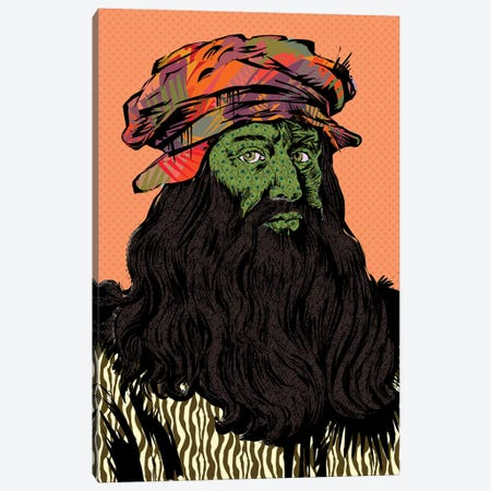 Leonardo Da Vinci Canvas Print #TDR280} by TECHNODROME1 Canvas Wall Art