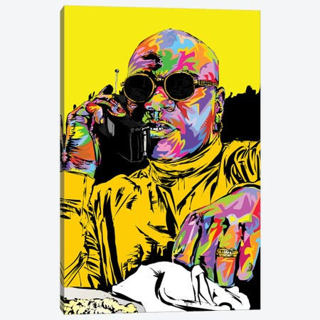 Marsellus Wallace Canvas Print #TDR282} by TECHNODROME1 Canvas Artwork
