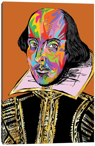 Shakespeare Canvas Art Print