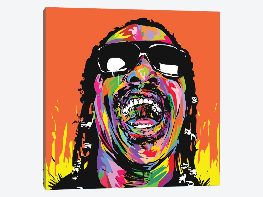 Stevie by TECHNODROME1 1-piece Canvas Art Print