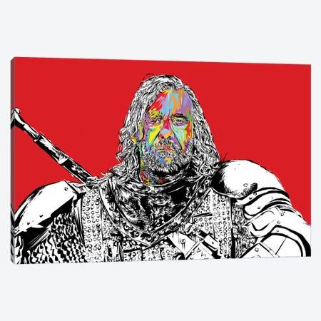 The Hound Canvas Print #TDR288} by TECHNODROME1 Canvas Wall Art