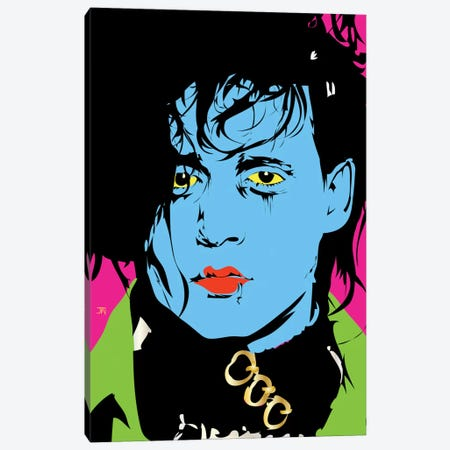 Edward Scissorhands Canvas Print #TDR28} by TECHNODROME1 Canvas Art