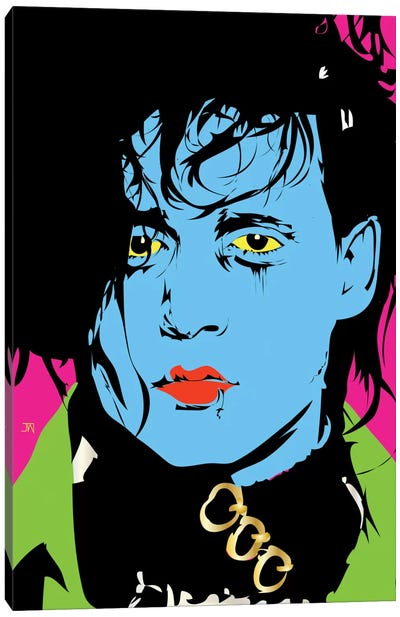 Edward Scissorhands Canvas Print #TDR28