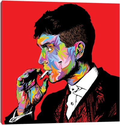 Tommy Shelby Canvas Art Print