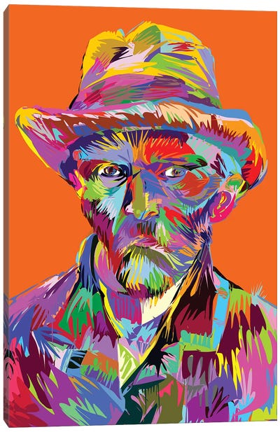 Vincent Canvas Art Print