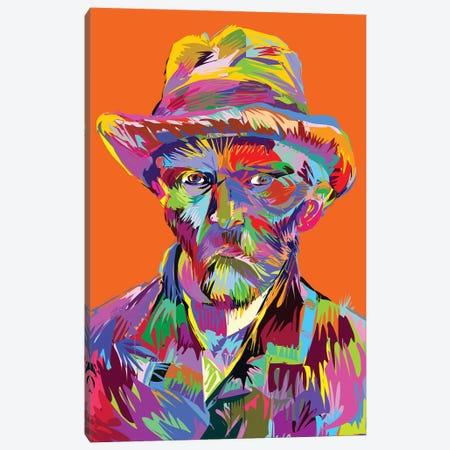 Vincent Canvas Print #TDR292} by TECHNODROME1 Canvas Art Print