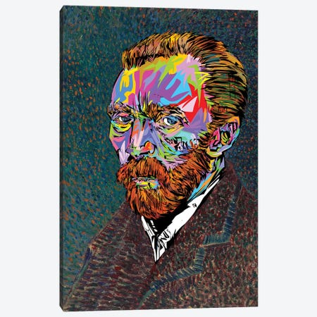 Vincent Van Gogh Canvas Print #TDR293} by TECHNODROME1 Canvas Art Print
