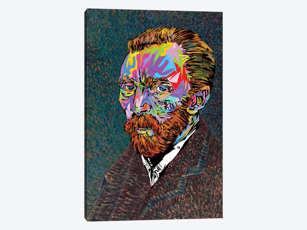 Vincent Van Gogh by TECHNODROME1 1-piece Art Print