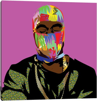 Yeezle Canvas Art Print