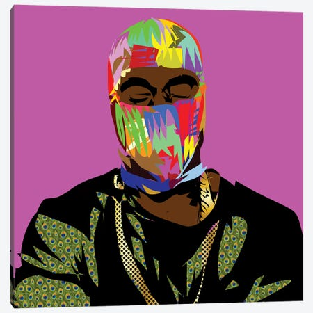 Yeezle Canvas Print #TDR294} by TECHNODROME1 Canvas Wall Art