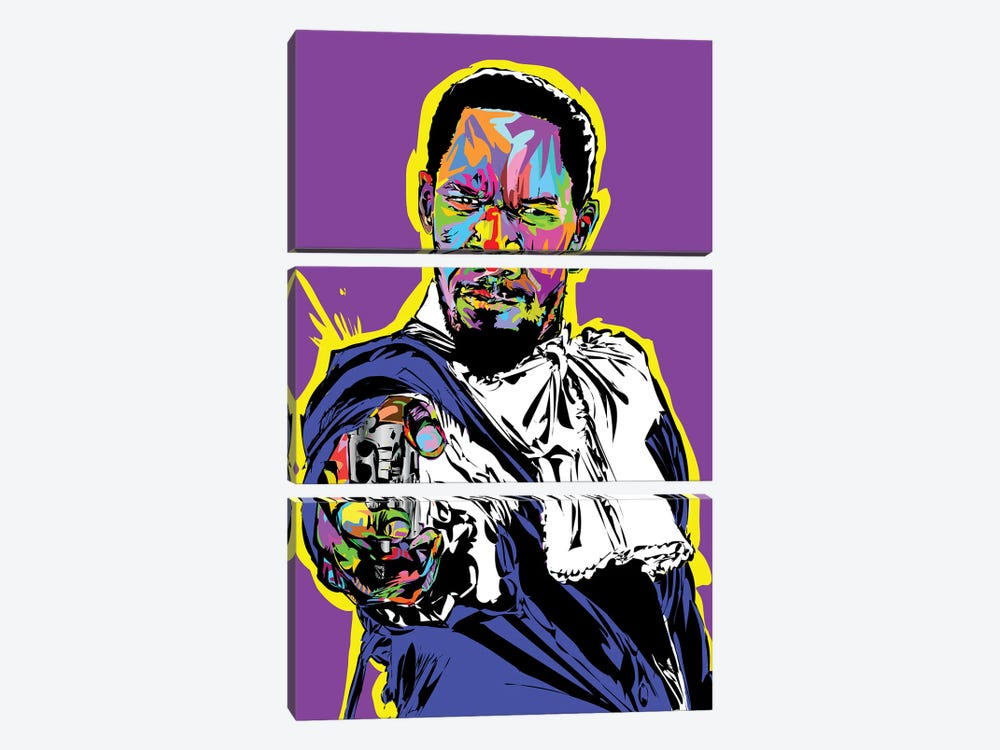 Django 3-piece Canvas Art Print