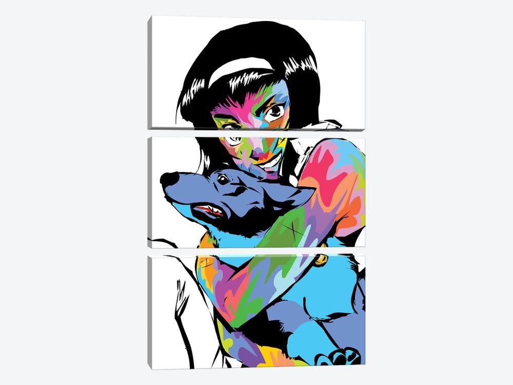 Faye by TECHNODROME1 3-piece Canvas Print