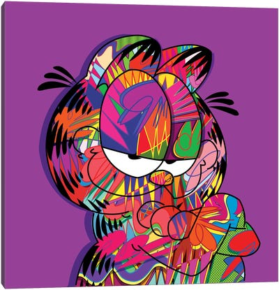 Garfield by TECHNODROME1 Canvas Artwork