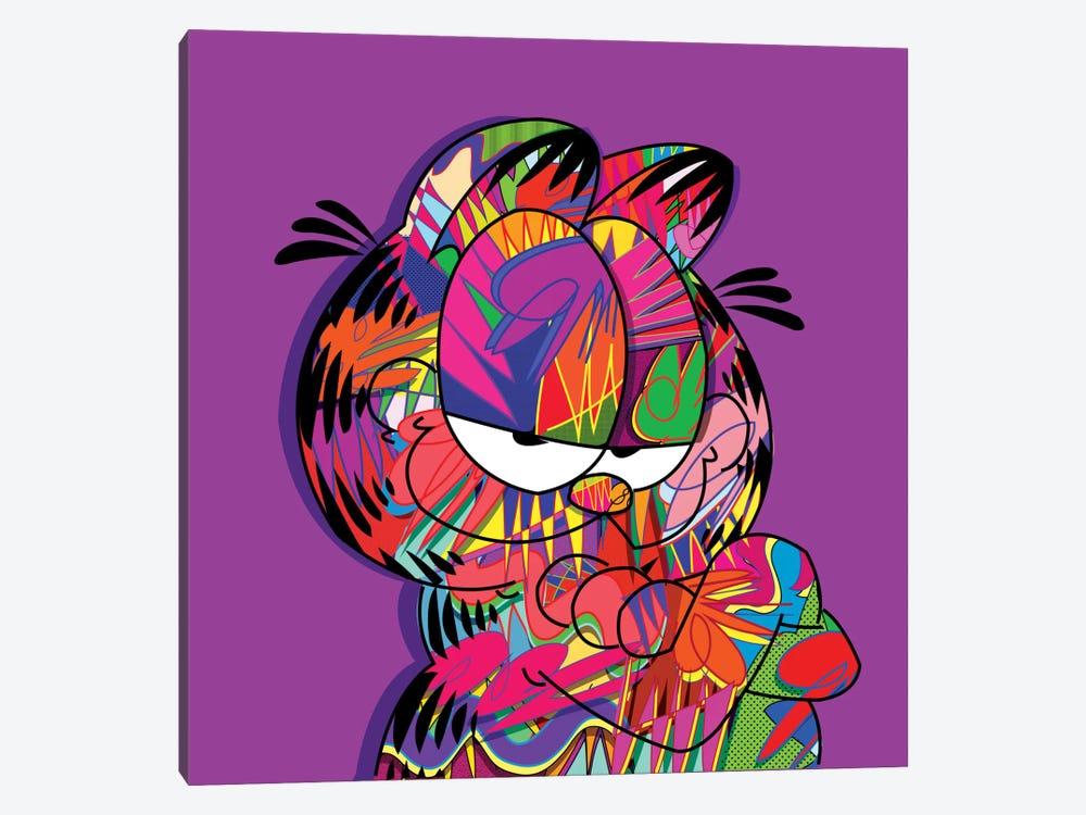 Garfield by TECHNODROME1 1-piece Canvas Art Print
